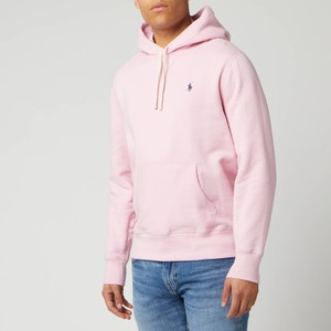 Polo Ralph Lauren Classic Logo Hoody in Garden Pink