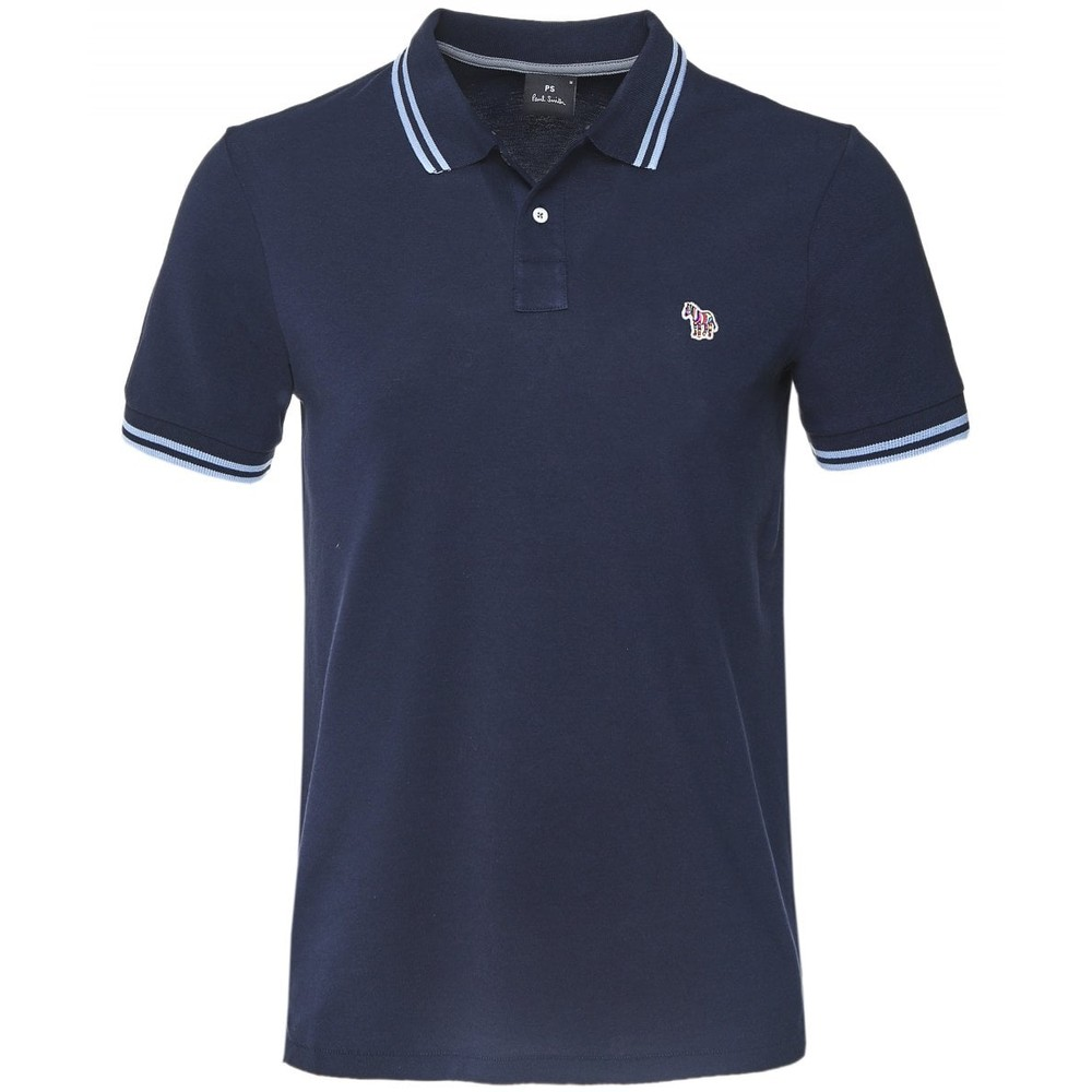 Paul Smith S/S Regular Fit Polo Dark Navy