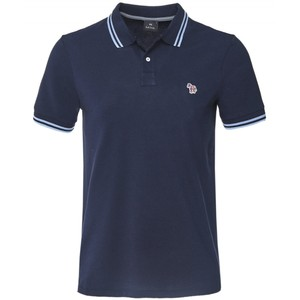S/S Regular Fit Polo Dark Navy