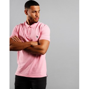 Zebra Logo Polo-Organic Cotton Powder
