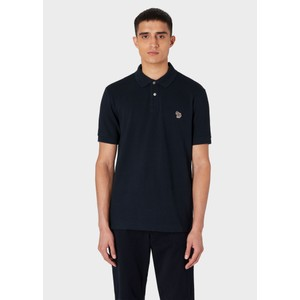 S/S Zebra Polo Shirt Dark Navy