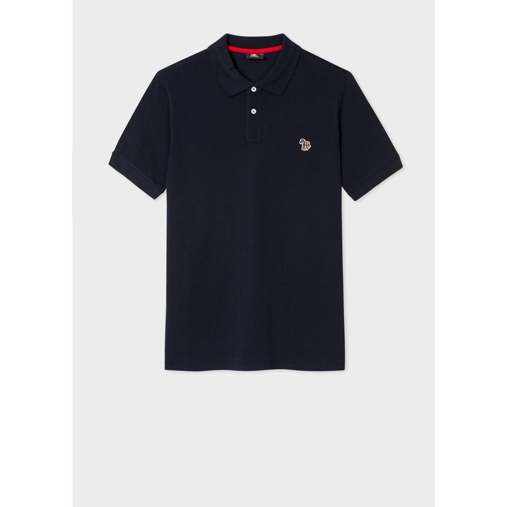 Paul Smith S/S Zebra Polo Shirt Dark Navy