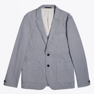 Micro Dogtooth Jacket Light Blue