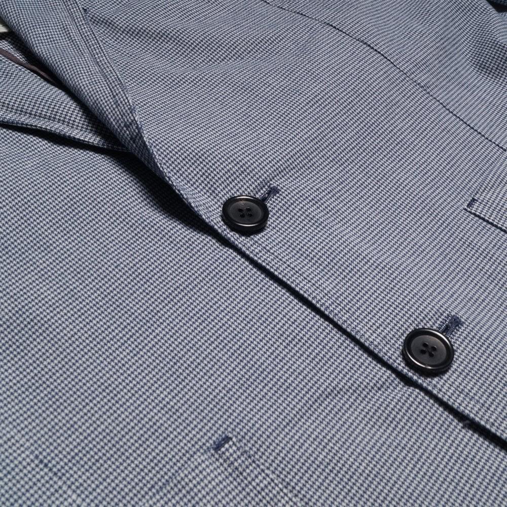 Paul Smith Micro Dogtooth Jacket Light Blue