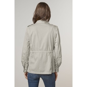 Velvet Ruby Army Jacket Pebble