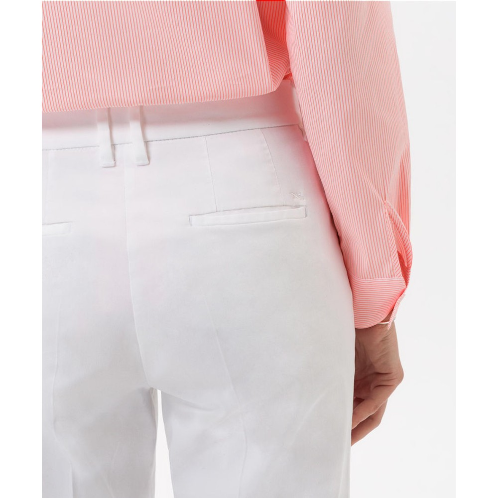 Brax Mara Slim Fit Trouser White