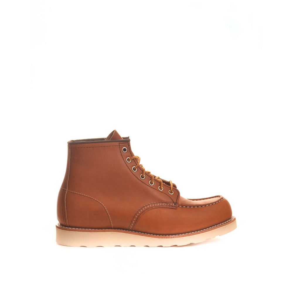 Red Wing Shoe Company  Classic Moc Toe Boot Brown