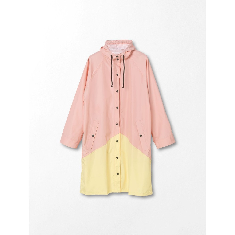 Becksondergaard Two Tone Magpie Raincoat Peachskin