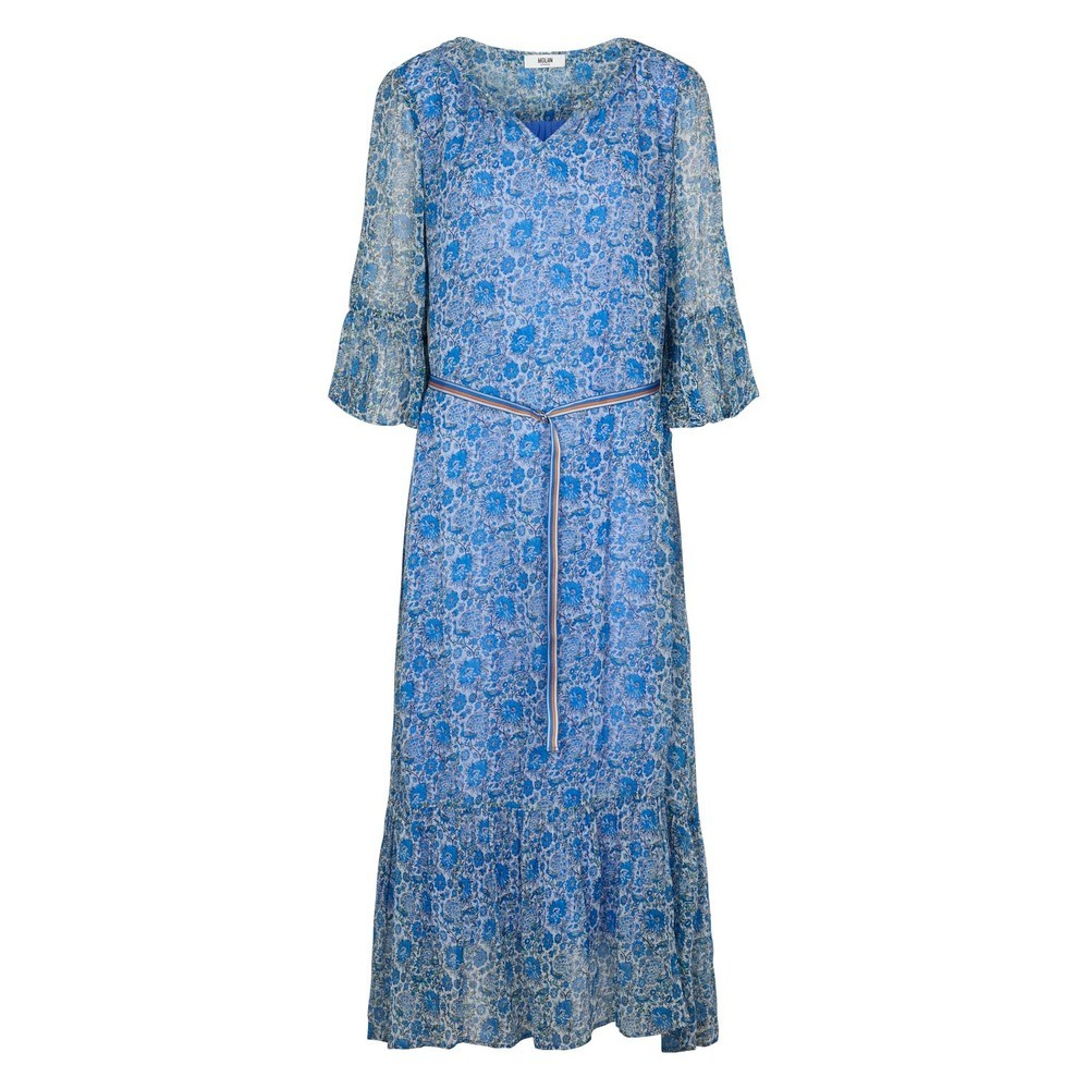 Moliin Ketty Floral Print Dress French Blue