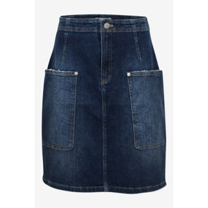 Shantel A Line Skirt Authentic Denim Wash