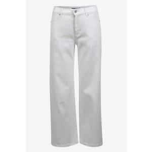 Baum Und Pferdgarten Nola Wide Leg Crop Jeans White