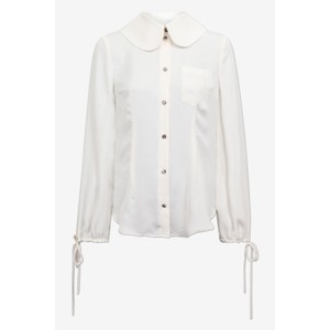 Mariquita Peter Pan Cllr Blouse Jet Stream