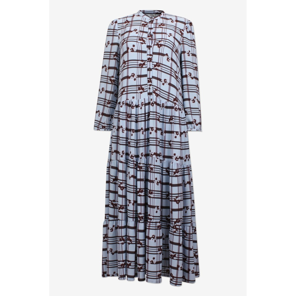 Baum Und Pferdgarten Aia Blossom Check Dress Blue/Brown