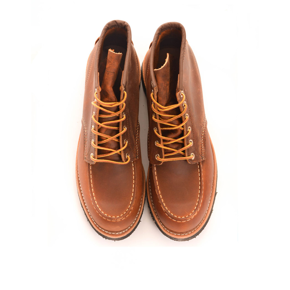 Red Wing Shoe Company  Classic Moc Toe Boot Copper