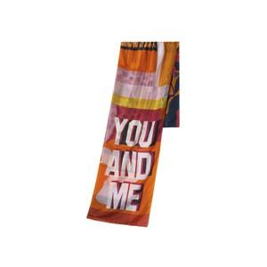 You and Me/Pattern Silk Shawl Multi