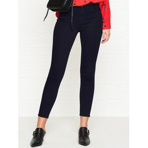 J Brand Alana Cropped Skinny High Rise Jean Blue Bird