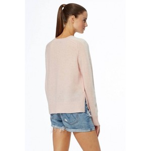 360 Sweater Talulah Arm Stripe Jumper Honey Pink/White