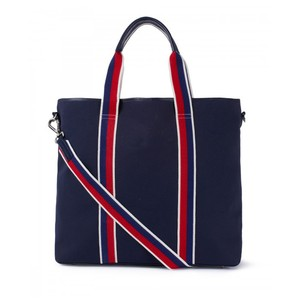 Canvas Tote Navy/Red/White