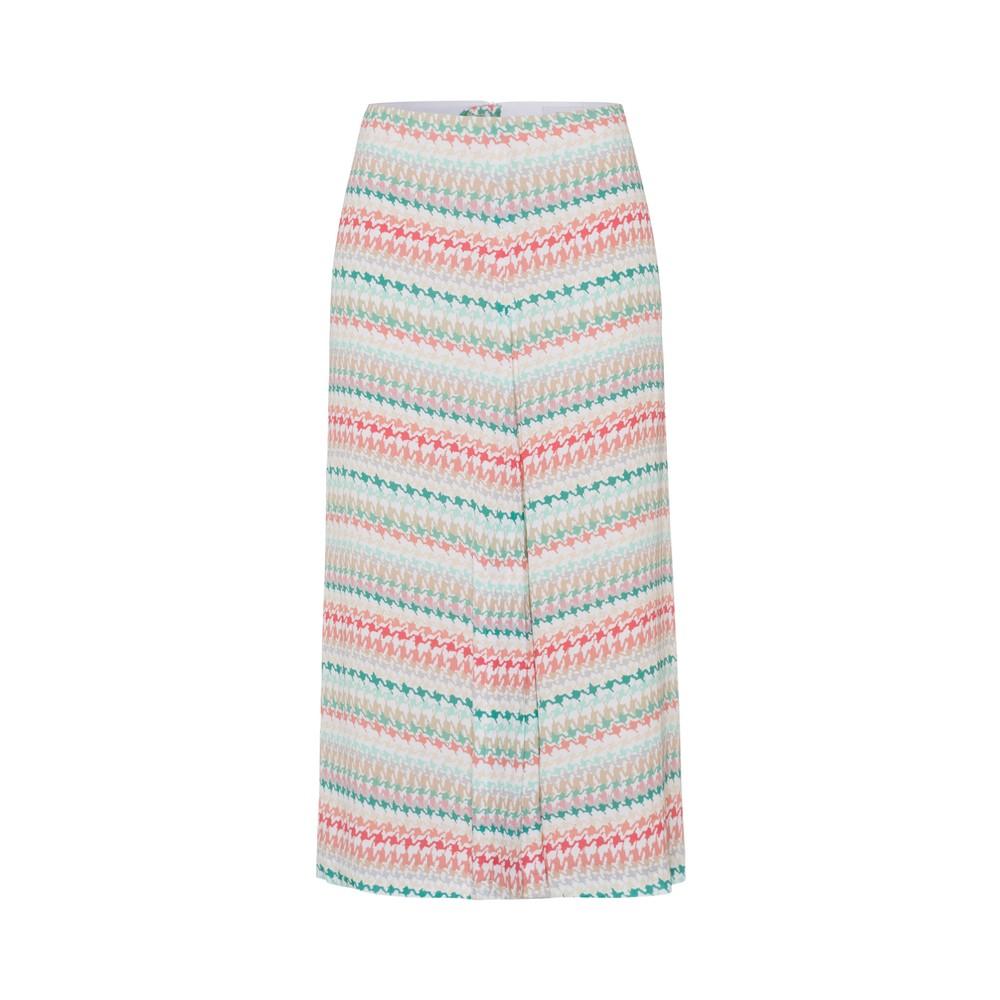 Riani Patterned Midi Skirt White/Multi