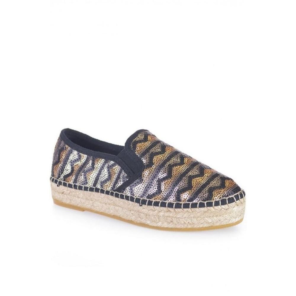 Toni Pons Fonda Sequin Shoe Black