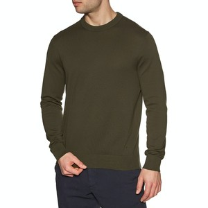 L/S Crew Neck Sweater Olive