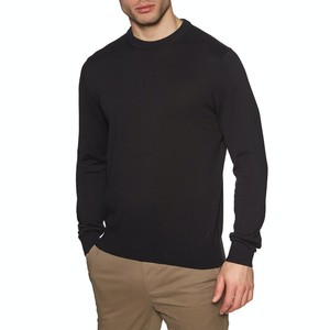 L/S Crew Neck Sweater Black