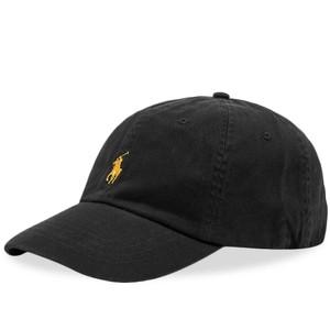 Polo Ralph Lauren Classic Sport Cap in Black/Gold