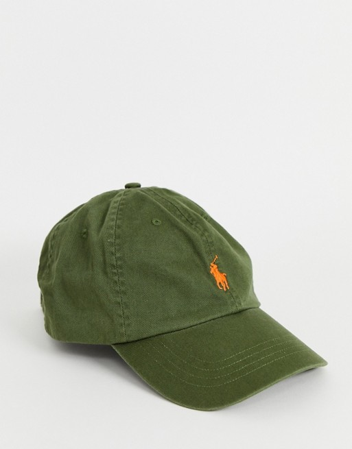 Polo Ralph Lauren Classic Sport Cap Supply Olive