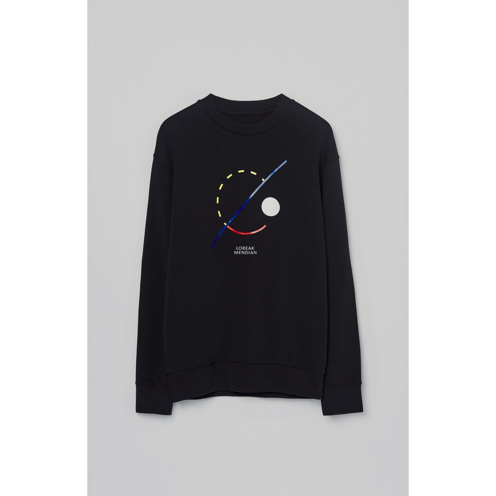 Loreak Geo Fatty Sweater Black
