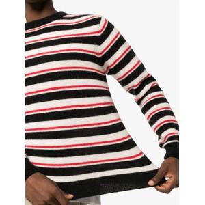 Loe Noah Stripe Jumper Navy/White/Red