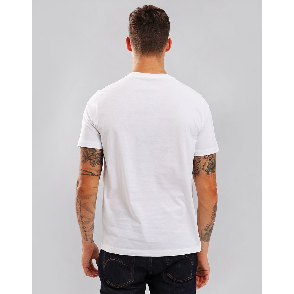 Paul Smith S/S Reg Fit Zebra Logo Tee White