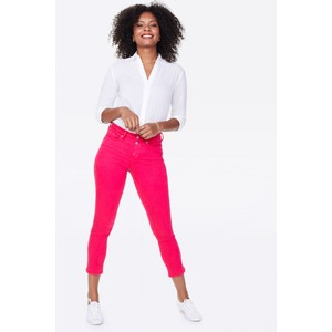 Sheri Slim Ankle Jean Big Pink