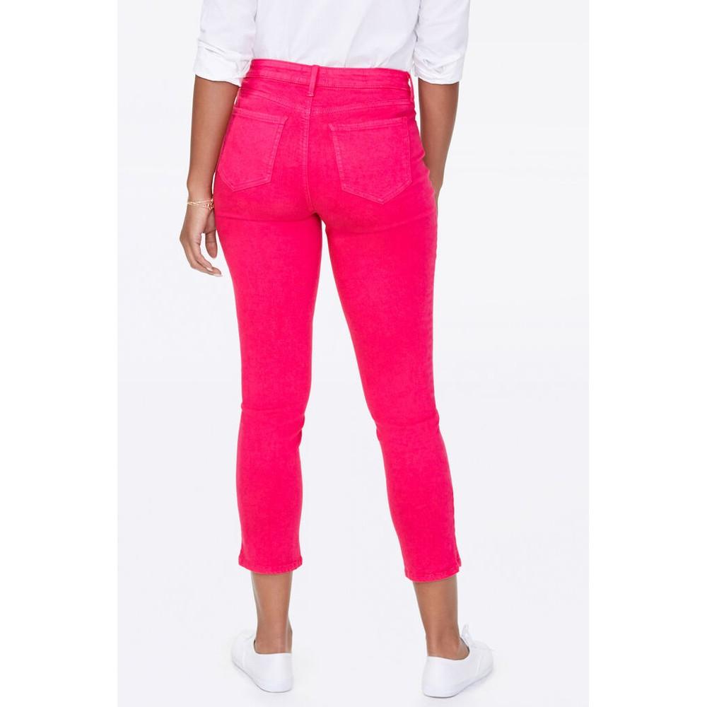 NYDJ Sheri Slim Ankle Jean Big Pink