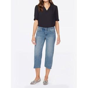 Wide Leg Capri Jeans Coheed