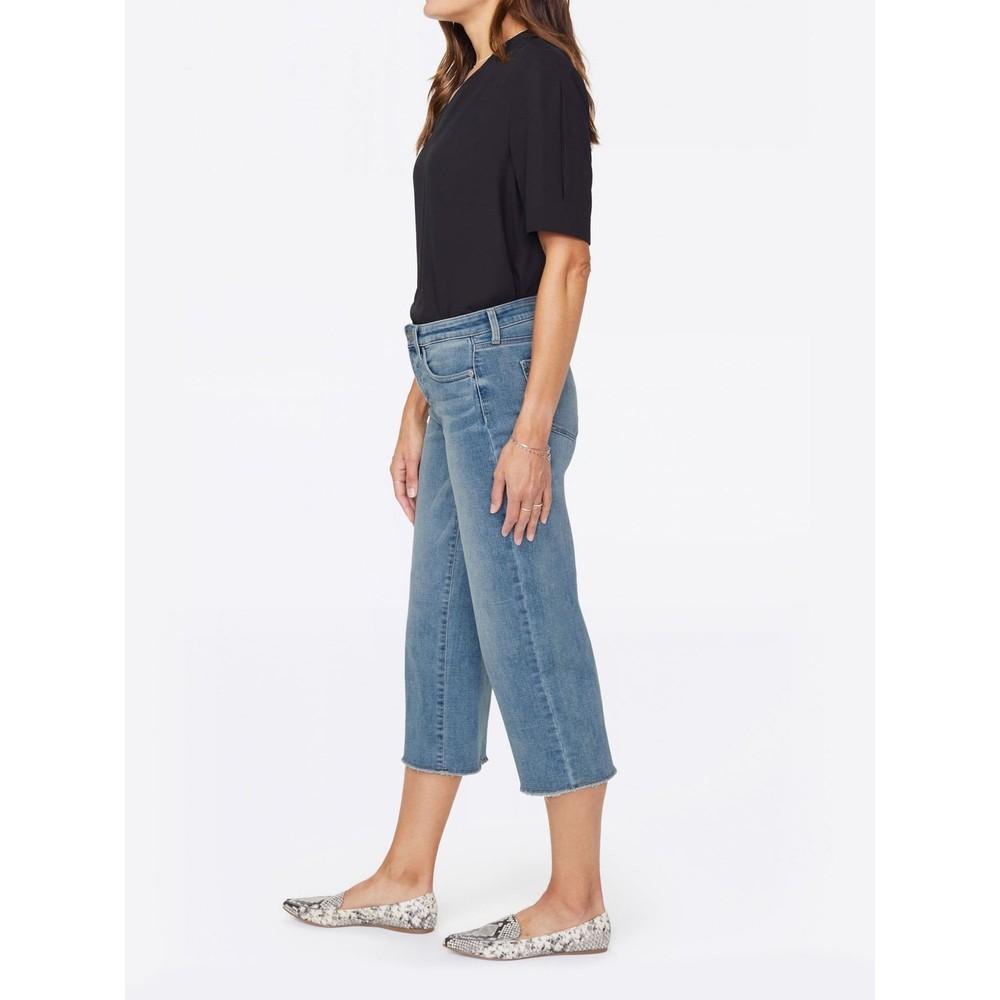 NYDJ Wide Leg Capri Jeans Coheed
