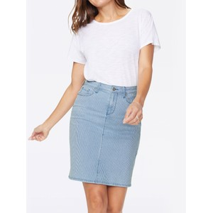5 Pocket Denim Skirt Trella