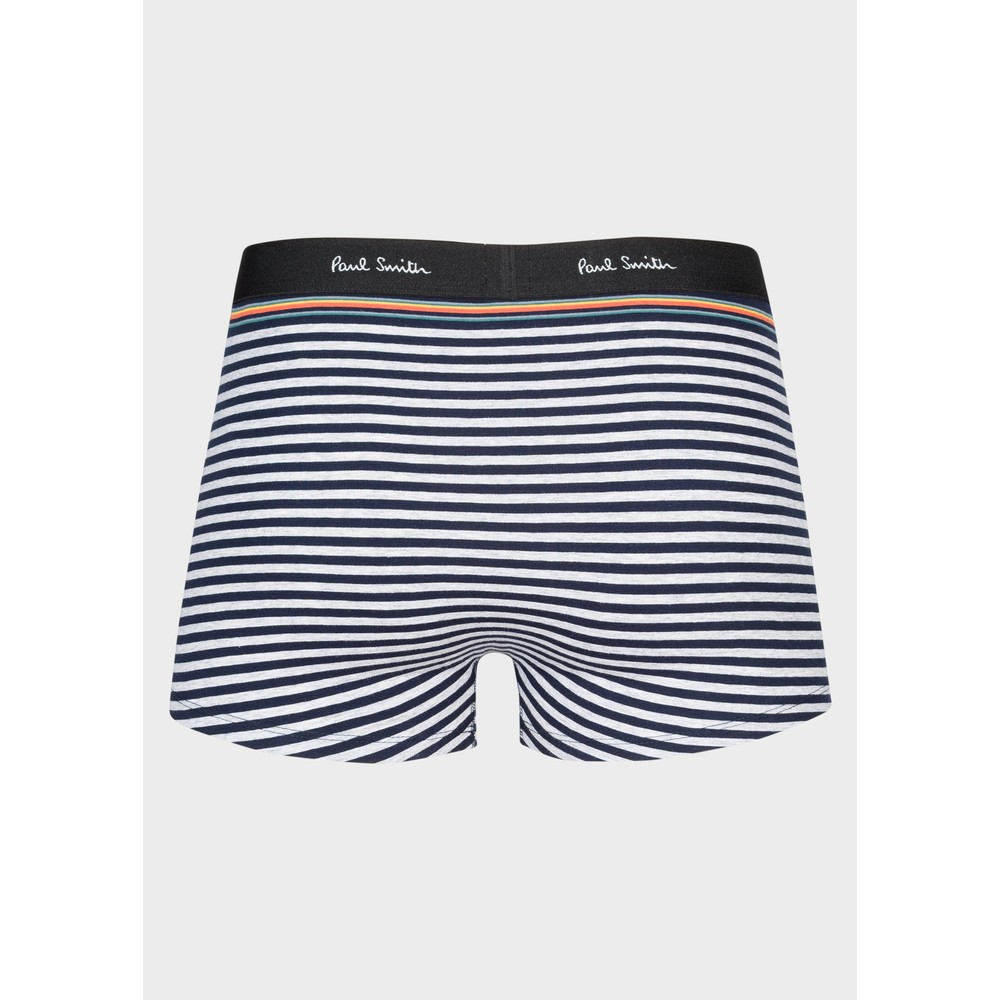 Paul Smith Accessories Striped Trunk Inky/White