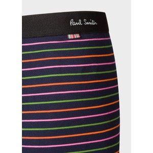 Paul Smith Accessories Thin Stripe Trunks Navy/Multi