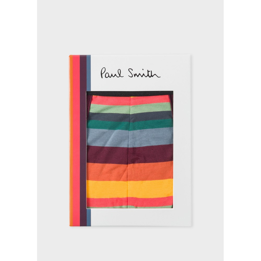 Paul Smith Accessories Bold Stripe Trunk Multicolour