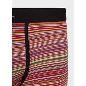 Paul Smith Accessories Multi Stripe Trunk Red/Multi