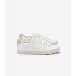 Esplar Leather Trainer Extra White