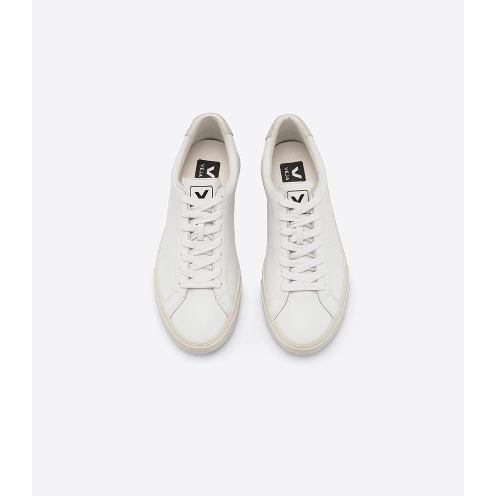 Veja Esplar Leather Trainer Extra White