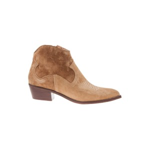 Stitch Detail Ankle Boot Tan