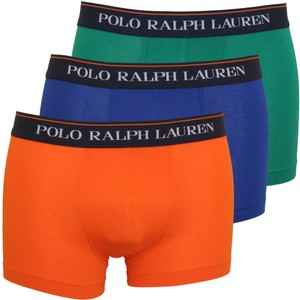 3Pk Classic Trunk Green/Orange/Blue