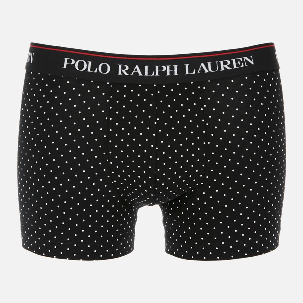 Polo Ralph Lauren 3Pk Classic Trunk Polo Black/White DotsStripes