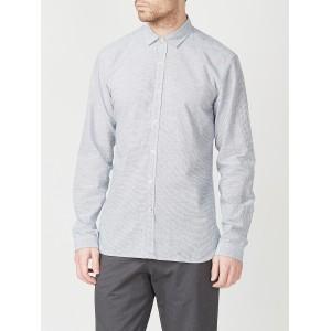 Oliver Spencer Clerkenwell Tab Shirt in Shipley Blue
