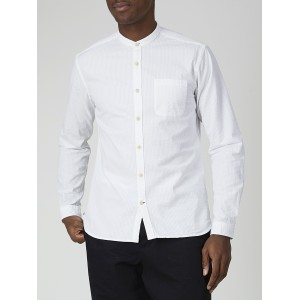 Grandad Shirt Hattison White