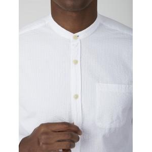 Oliver Spencer Grandad Shirt Hattison White