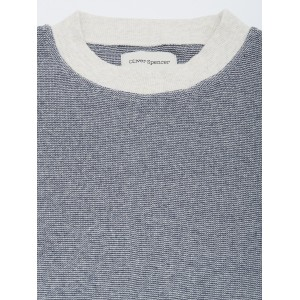 Oliver Spencer Clemson Crew Sweater Yale Navy