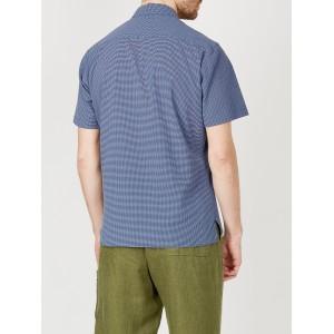 Oliver Spencer Hawaiian Shirt Killerton Navy